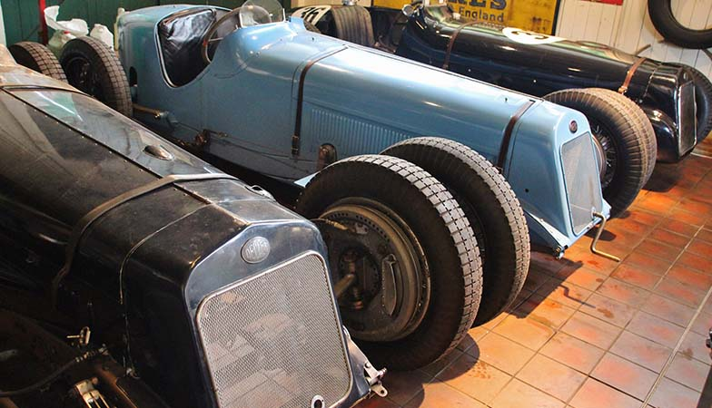 Temporary Exhibition: Four 1500cc Delages together until Wed 28th June