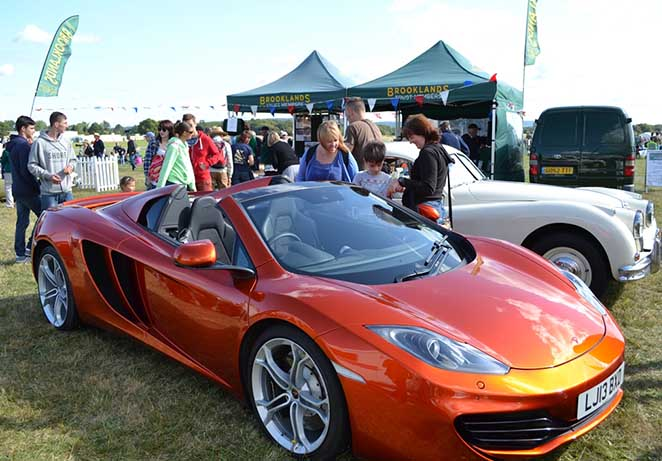 BTM Outreach Wings and wheels Mclaren