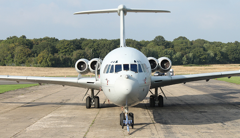 VC10 ZA150 Open Day at Dunsfold...