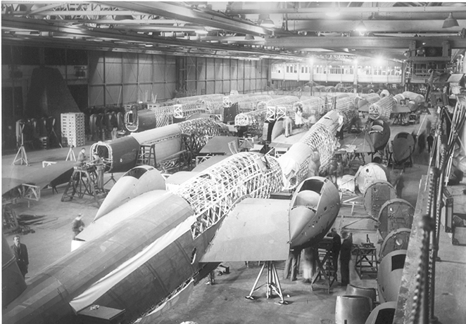 wellington Bomber production line brooklands archive.jpg