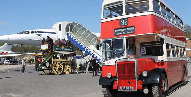 getting Here by bus - bus outside concorde.jpg