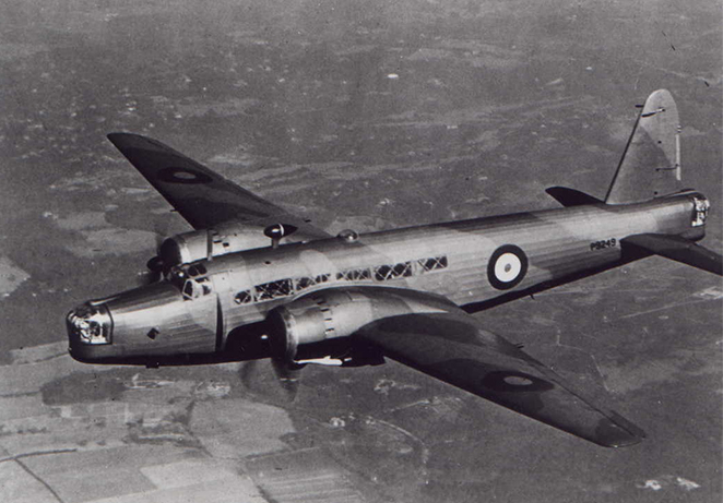 wellington Bomber in air archive.jpg