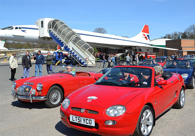 MG ERA cavacade queue Concorde.jpg