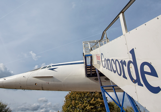Concorde closure for refurbishment: 18th - 26th February