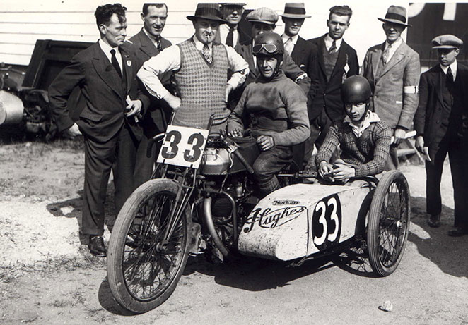 Bert Denley on the ex- Pat Driscol Norton Hughes Motorcycle & sidecar LPD1 archive.jpg