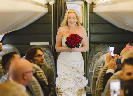 Weddings on Concorde