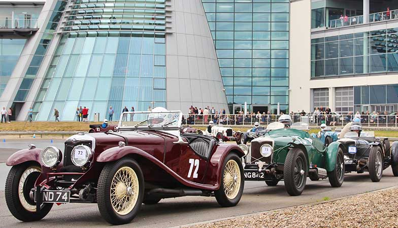 The Brooklands Double Twelve Motorsport...