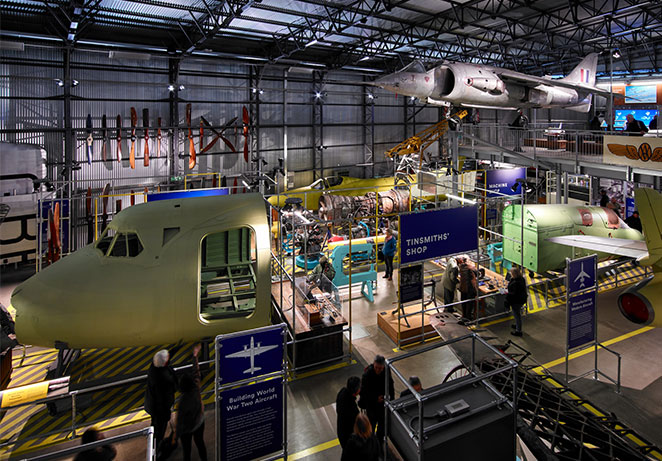 DON'T MISS: Brooklands Aircraft Factory & Flight Shed