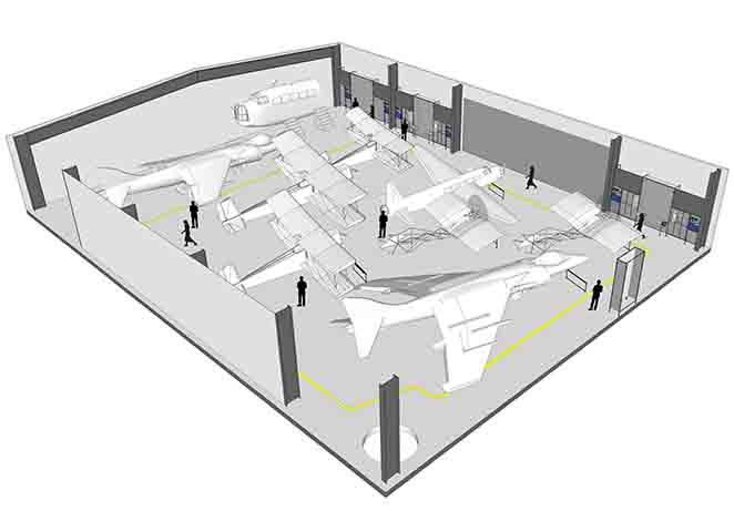 Re-engineering Brooklands flight shed plan view.jpg