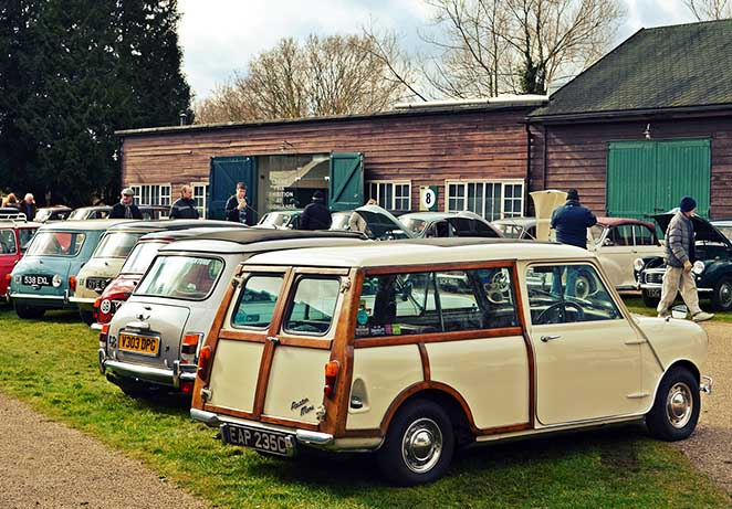 Brooklands Austin Morris Day motoring village.jpg
