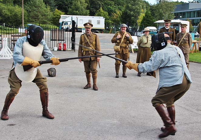 Great War living history group bayonet fencing.jpg
