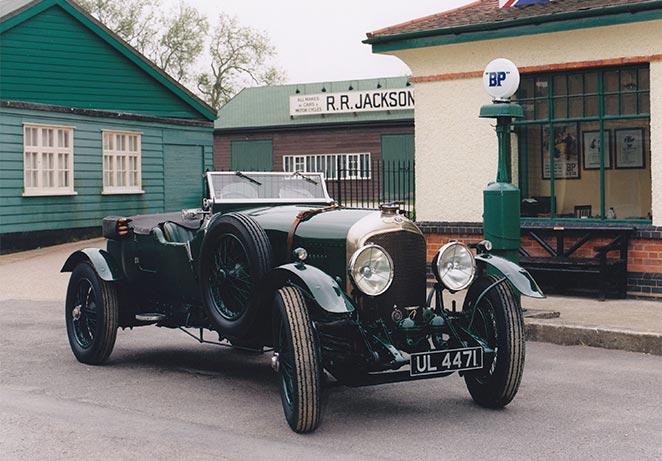 Brooklands Museum Bentley 4 Litre Le Mans