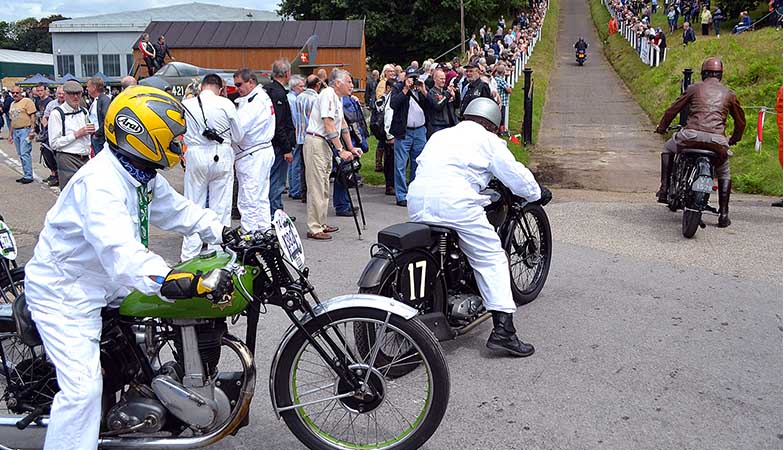 The Brooklands Motorcycle Show