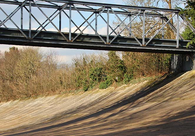 Banking and Bridge of race track.jpg