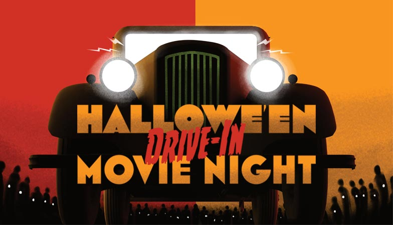 Hallowe'en Drive-In Movie Night