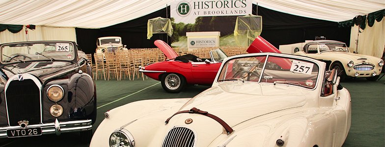 Historics@Brooklands Classic Car Auction